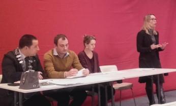 Intervention d'Emilie Marcelet de la JCE d'Amiens pour présenter l'action MOOC