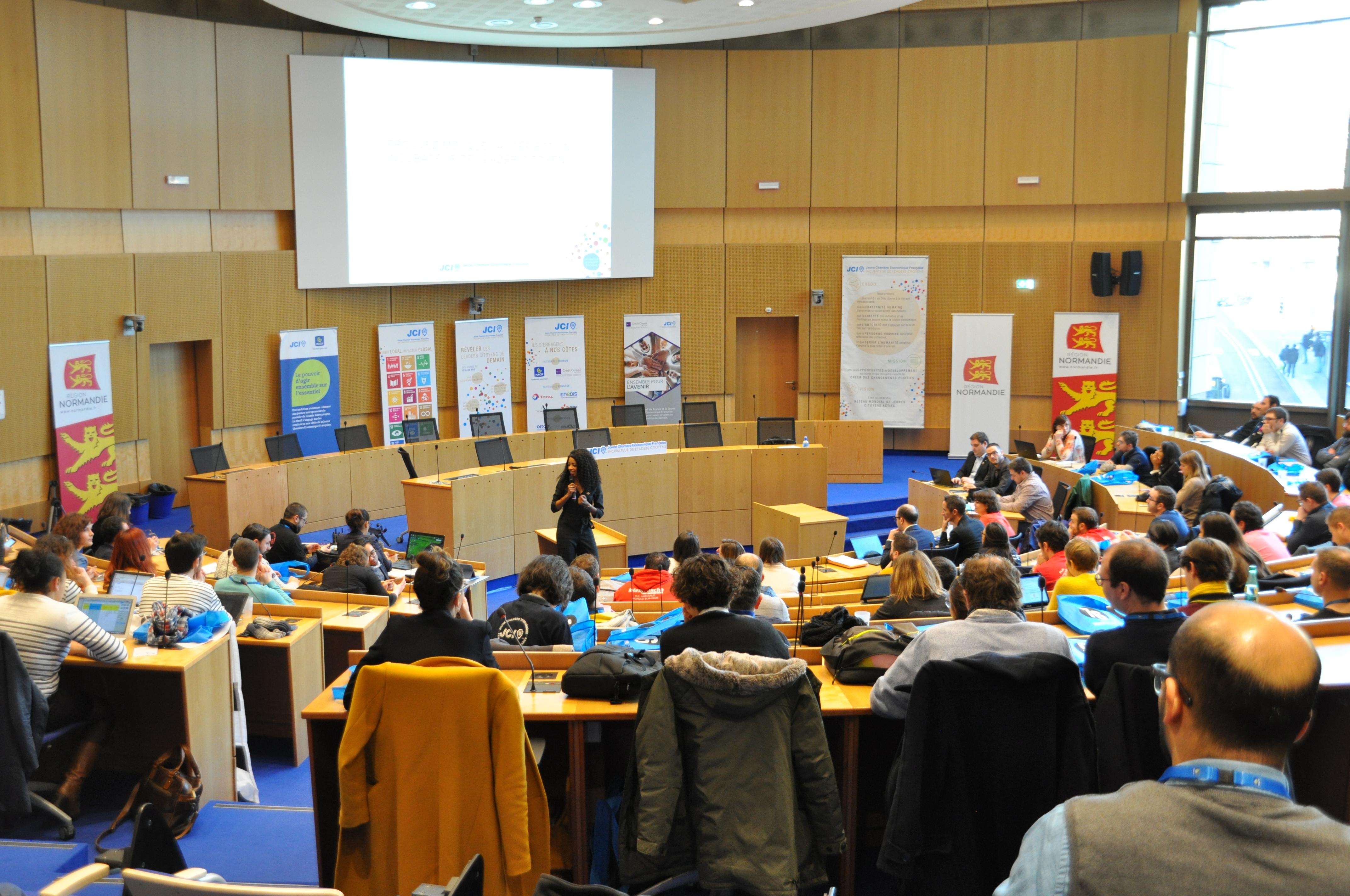 Conference presidents JCE Rouen