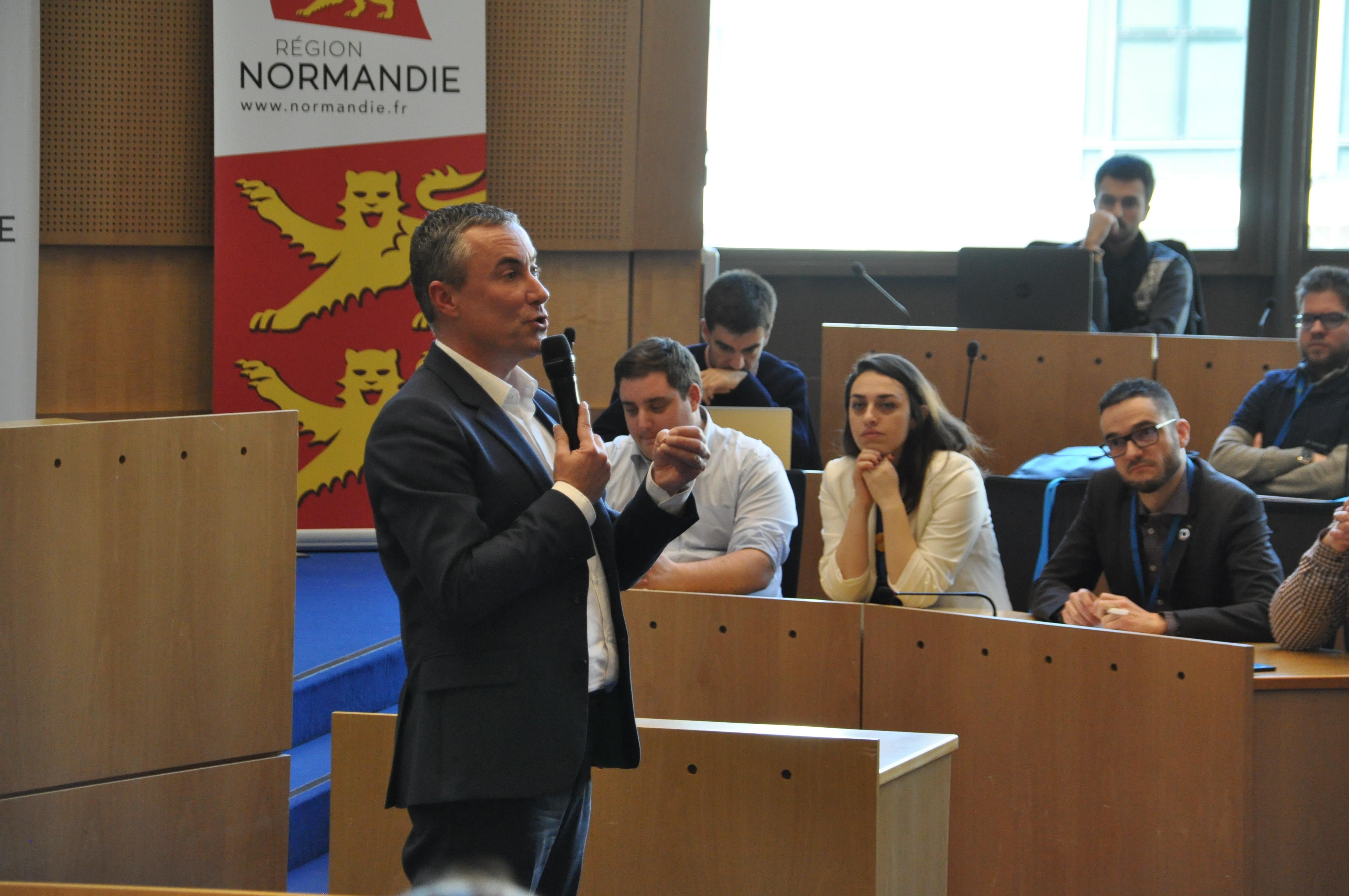 Conference presidents JCE Rouen_Jean Louis Louvel